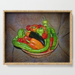 Spicy havest Serving Tray