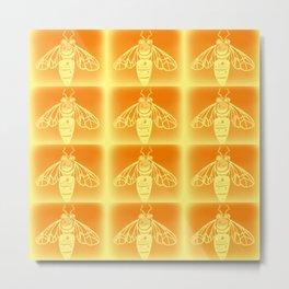 Bee Hive Metal Print