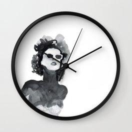 Woman XY 222 Wall Clock