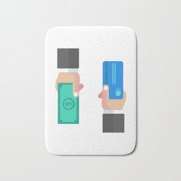 Credit Card Transaction Bath Mat