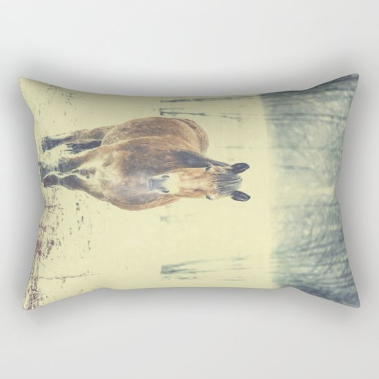 Wandering beauty Rectangular Pillow