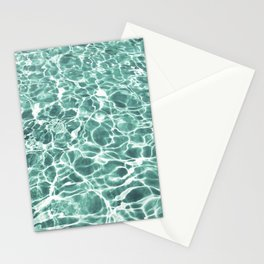 Pool Water Stationery Cards