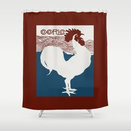 Cocorico! Shower Curtain