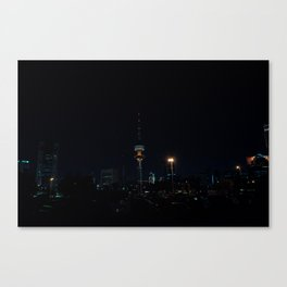 Kuwait Cityscape/Night Canvas Print