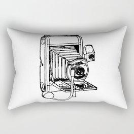 Camera. Rectangular Pillow