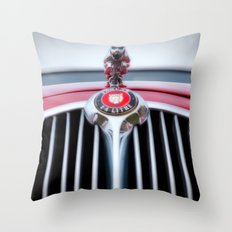 Jaguar car Throw Pillow