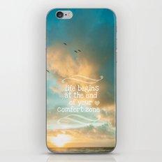 Life Begins Design iPhone & iPod Skin