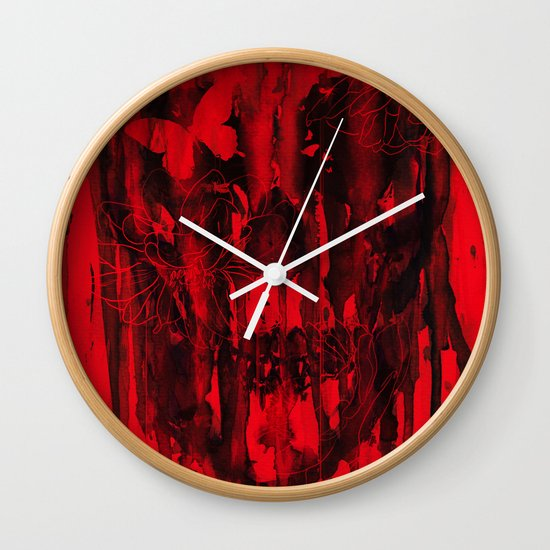Birth of Oblivion Wall Clock