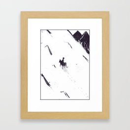 Blue Montaintops Framed Art Print