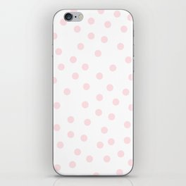 Simply Dots in Pink Flamingo iPhone Skin