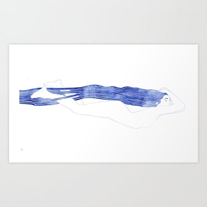 Nereid XLIX Art Print