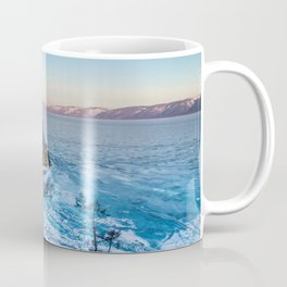 Shaman Rock on Olkhon Island, Baikal Coffee Mug