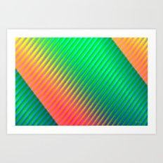 Neutral zone Art Print