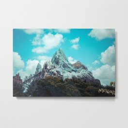 Sunny Expedition Metal Print