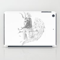 angel wings iPad Cases featuring Wings by Alessandro Spedicato