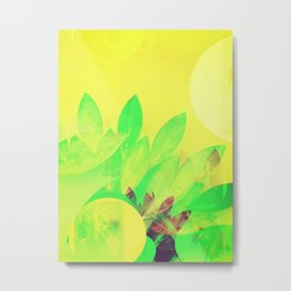 Tropical Sun Drops heat Metal Print