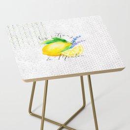 Les Citrons de Menton—Lemons from Menton, Côte d'Azur Side Table