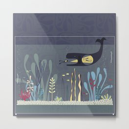 The Fishtank Metal Print