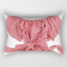 Red Background 08 Rectangular Pillow