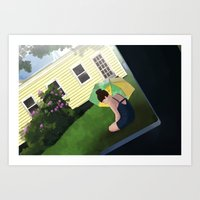 Summer Shade Art Print