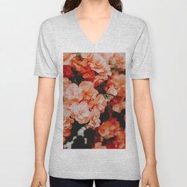 Spring Flowers II Unisex V-Neck