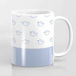 Ducklings light blue Coffee Mug