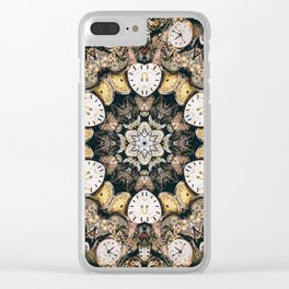 It's About Time Clear iPhone Case