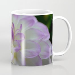 purple dahlia landscape Coffee Mug