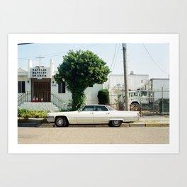 Preachers Love Their Cadillacs Art Print