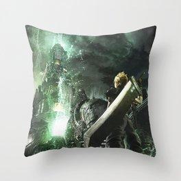 Soldier lifestream Throw Pillow
