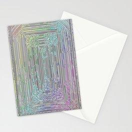 Free Rainbow Border Stationery Cards