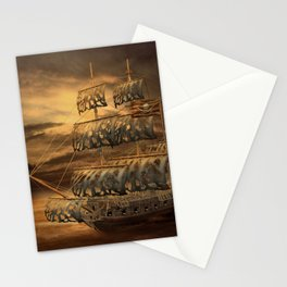 Pirate Ship Stationery Cards