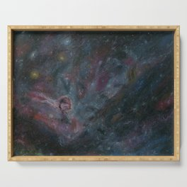 Diffuse Nebulae Serving Tray