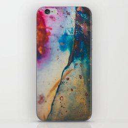 Copper Patina I iPhone Skin