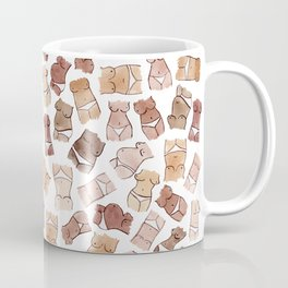 Hello, girls! // Boobs and butts Coffee Mug