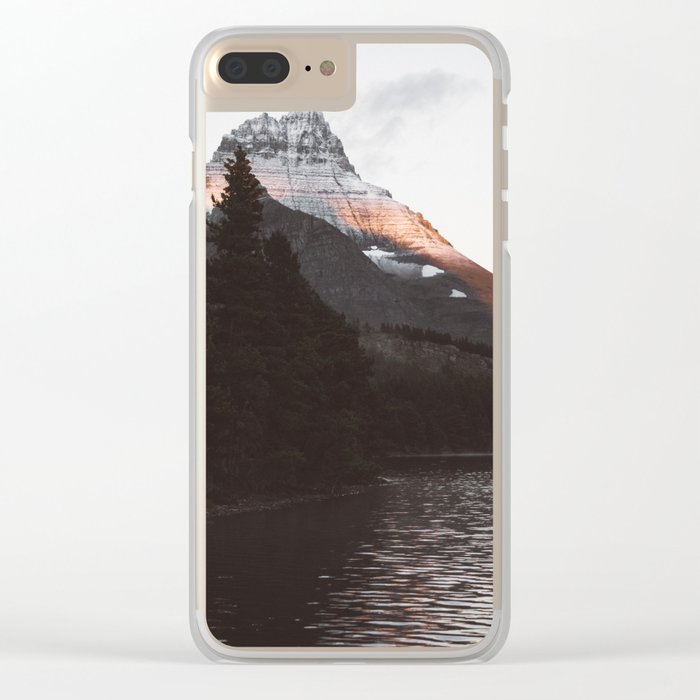 Sunset Mountain #society6 #buyart Clear iPhone Case