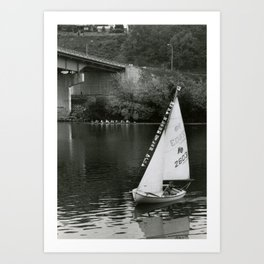 Sailboat Monongahela Art Print