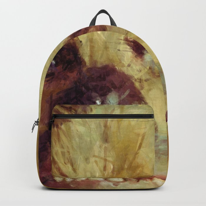Chewbacca Starwars Character Illustration Backpack
