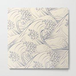 Waves no.02 Metal Print