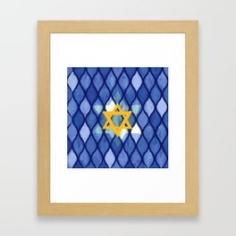 Jewish Celebration Framed Art Print