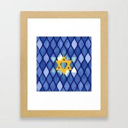 Jewish Celebration Framed Art Print