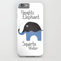 Naughty Elephant Squirts Water. Slim Case iPhone 6s