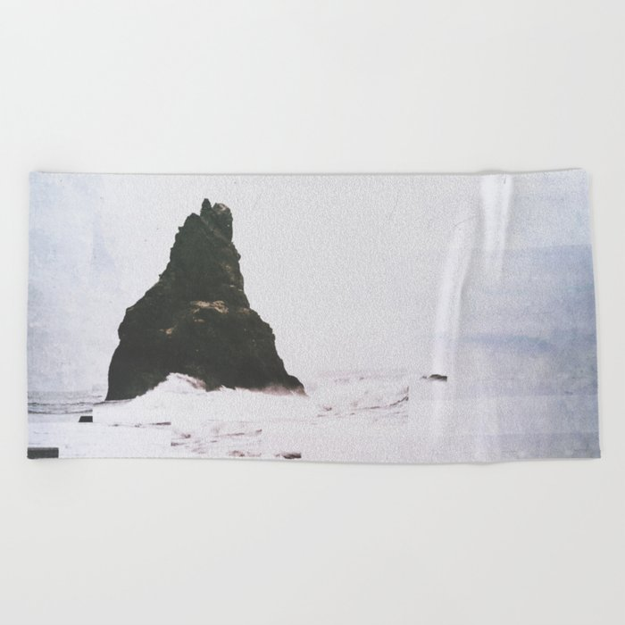 Fractions A12 Beach Towel