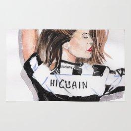 Juventus girl Rug