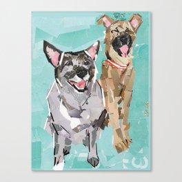 Diet Pop and Dog Hair Canvas Print