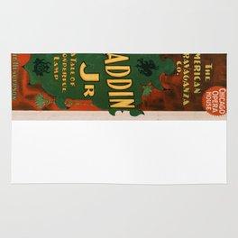 Vintage poster - Aladdin Jr. Rug
