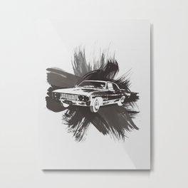 Watercolor Impala Metal Print