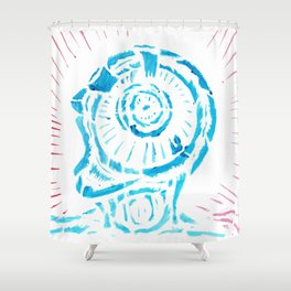 The New Flesh 7 Shower Curtain
