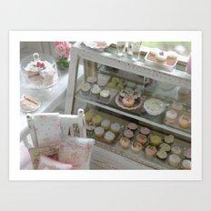 The Cottage Bakery Art Print