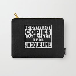 I Am Jacqueline Funny Personal Personalized Gift Carry-All Pouch